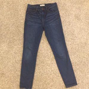 Madewell Roadtripper Skinny Jeans 28